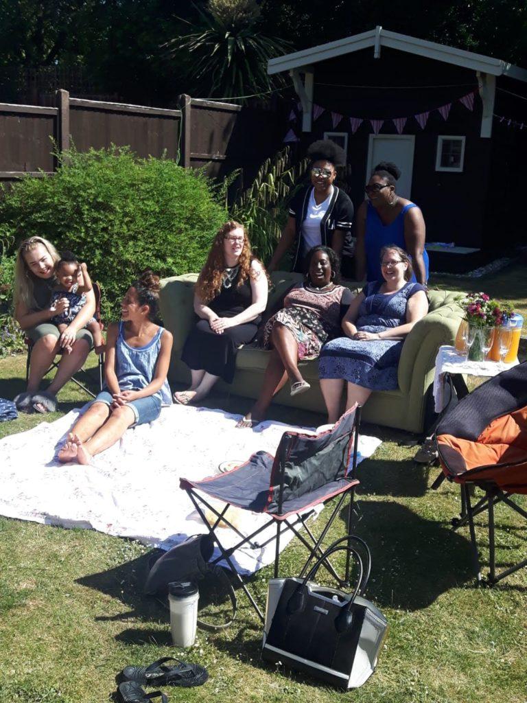 Ladies Picnic in the Sun